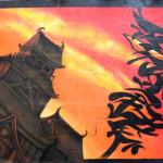 Jeode Fresque PMA Samouraï