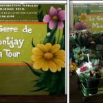 Stand Marché Fleuriste - JEODE (77) Avril 2012 - 3m x 2,50m