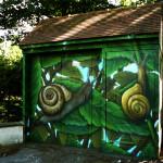 Les escargots EDF - par JEODE - Pomponne (77) - Juillet 2013