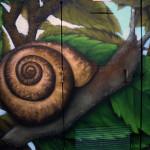 Les escargots EDF détail - par JEODE - Pomponne (77) - Juillet 2013