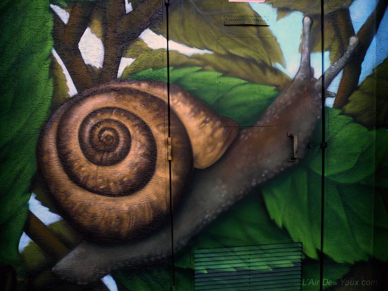 Détail EDF Les escargots